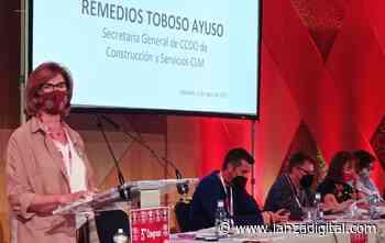 Maribel Cabañero, nueva secretaria general de CCOO-Construcción y Servicios Castilla-La Mancha - Lanza Digital - Lanza Digital