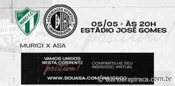 Diretoria alvinegra segue com as vendas dos ingressos virtuais para Murici e ASA - Diário Arapiraca