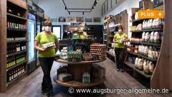 Neueröffnung: Gablinger Hofladen Rotter strahlt in neuem Glanz - Augsburger Allgemeine