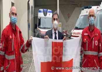 RIVOLI - La bandiera della Croce Rossa esposta in Comune per la Giornata Mondiale - FOTO - QV QuotidianoVenariese
