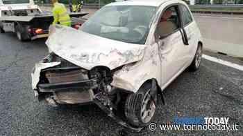 Incidente in tangenziale a Rivoli: auto contro guardrail, conducente in ospedale - TorinoToday