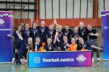 FBC Dragons U19 Mädchen holen den Floorball Staatsmeistertitel: Bereits zum fünften Mal in Folge konnten die U19 Mädchen des Liesinger Floorball Vereins FBC Dragons den Staatsmeistertitel gewinnen. - meinbezirk.at