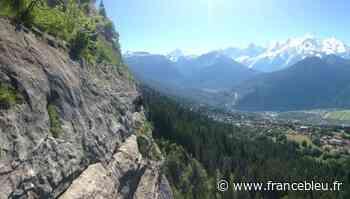 Ouverture de la via ferrata au Plateau d'Assy à Passy 3 mai 2021 La via - France Bleu