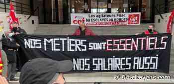 Ivry-sur-Seine: manifestation devant le siège de Fnac-Darty - 94 Citoyens