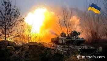 Invaders shell Ukrainian troops in Donetsk region - MENAFN.COM