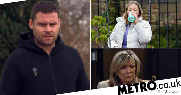Emmerdale spoilers: 29 new images reveal Aaron attacked, Liv caught out and Kim's health terror exposed