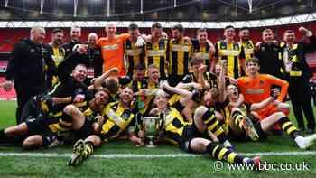 FA Vase final 2019-20: Hebburn Town beat Consett 3-2 to lift trophy at Wembley