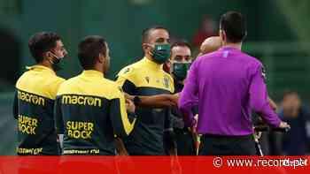 O que foi dito após o Sporting-FC Porto que levou agora à suspensão de Rúben Amorim - Record