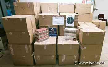 500 kg de tabac de contrebande saisis par les douanes d'Auxerre sur l'autoroute A6 - L'Yonne Républicaine