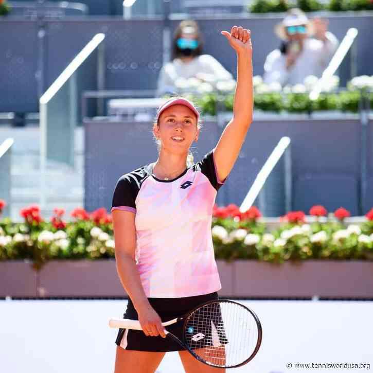 Mutua Madrid Open: Elise Mertens knocks out Simona Halep to reach last-eight