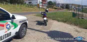Polícia Militar apreende mais uma moto barulhenta em Capinzal - Rádio Capinzal
