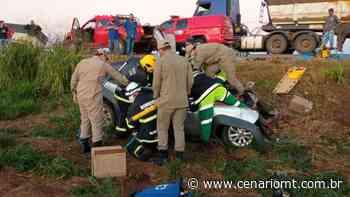 (VÍDEO) Morador de Lucas do Rio Verde sofre grave acidente na BR-163 - CenárioMT