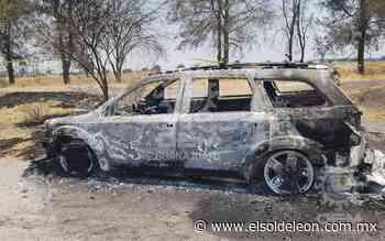 Localizan dos cadáveres calcinados en Juventino Rosas - El Sol de León