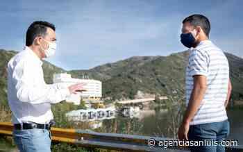 El ministro Anastasi visitó Potrero de los Funes - Agencia de Noticias San Luis