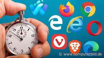 Acht Browser im Tempo-Test: Wer ist am schnellsten?