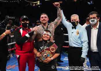 Hearn wants Andy Ruiz Jr to fight Deontay Wilder