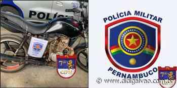 Policiais Militares da 7ª CIPM cumpriram mandado de prisão em Santa Maria da Boa Vista - Blog do Didi Galvão