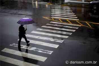 Previsão é mais chuva e frio durante a semana em Santa Maria - Diário de Santa Maria
