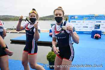Lucy Glover on winning European rowing silver for Team GB