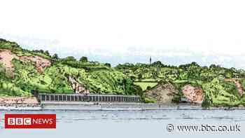 Devon railway line rockfall shelter to be extended at Dawlish