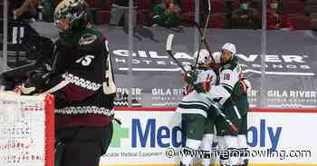 Arizona Coyotes can't convert on chances, fall 4-1 to Minnesota Wild - Five for Howling