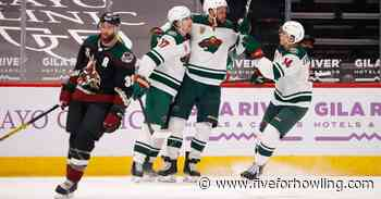 Second period dooms Arizona Coyotes, fall 5-2 to Minnesota Wild - Five for Howling