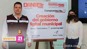 Digitalizará Daniel Torres trámites en Guadalupe - POSTA