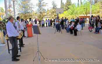 Rinden homenaje póstumo a exdirector del CBTIS 42 de Guadalupe Victoria - El Sol de Durango