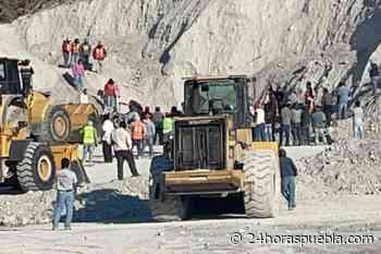 Derrumbe en mina deja un muerto y un herido en Guadalupe Victoria - 24 Horas El Diario Sin Límites Puebla