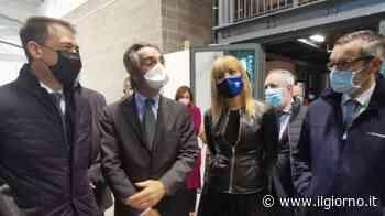 Sesto, il governatore Fontana inaugura il nuovo hub vaccinale - IL GIORNO