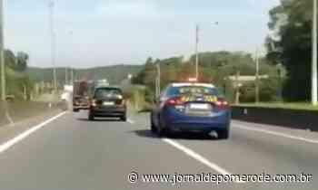 Vídeo: Jovem sem habilitação é capturado pela PRF, após 20km de perseguição - Jornal de Pomerode
