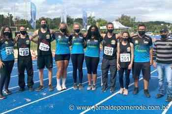 Atletismo sobe ao pódio em competição catarinense - Jornal de Pomerode