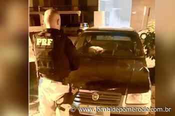 PRF recupera veículo roubado na BR-101, em Itapema - Jornal de Pomerode