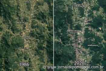 Vídeo: Google lança ferramenta que mostra vídeo de desenvolvimento de Pomerode de 1986 até hoje - Jornal de Pomerode