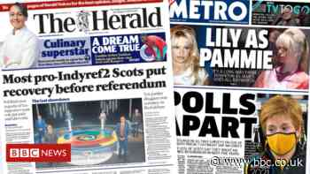 Scotland's papers: Election polls and veterans 'witch hunt'