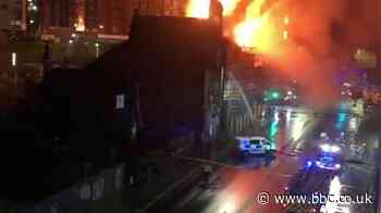 Fire crews tackle blaze in Glasgow city centre