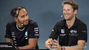 Grosjean to return to F1 in Mercedes test