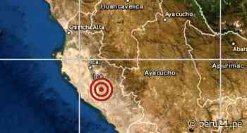 Ica: sismo de 5.6 se registró en Nazca - Diario Perú21
