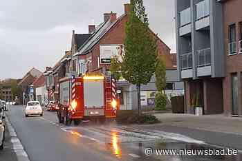 Brandweer rukt uit voor oliespoor in centrum