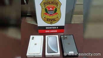 DIG apreende IPhones roubados durante assalto a loja em Assis - Assiscity