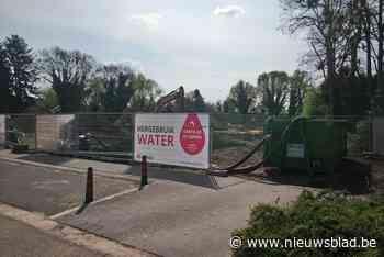 Gratis water te krijgen aan het Dorpsplein