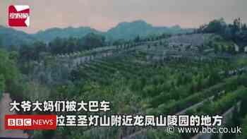 China: Elderly tourists taken on sales trip to cemetery