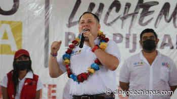 Romeo Medina Gómez Va por el Pijijiapan que todos queremos - Diario de Chiapas