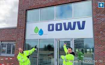 Neubau des Wasserverbands in Schortens fast fertig: Neue Betriebsstelle soll Kundencenter werden - Nordwest-Zeitung