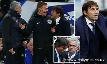 Inter Milan boss Antonio Conte plays down heated rivalry with Roma's new manager Jose Mourinho