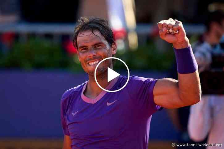 Rafael Nadal SHOWS his talent as SOCCER PLAYER in Madrid!