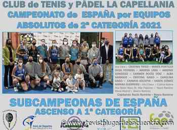 El Club La Capellanía se proclama subcampeón del Campeonato de España por Equipos Absolutos de 2ª categoría - Revista Lugar Encuentro