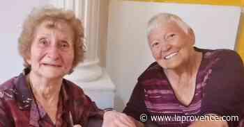 Bouc-Bel-Air : 70 ans plus tard, les deux copines se retrouvent à l'Ehpad - La Provence