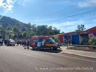 Jovem invade escola e esfaqueia crianças e professores no Oeste de SC - Jornal de Pomerode