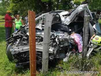 Dos mujeres mueren en aparatoso accidente en vía Buenavista – La Apartada - Diario La Libertad